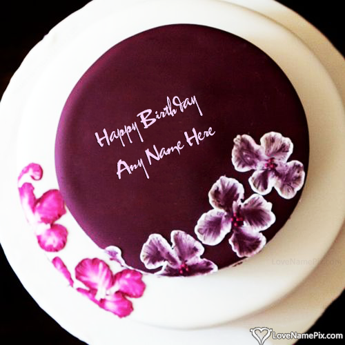 Write Name on Best Birthday Cake Generator For Girl Picture