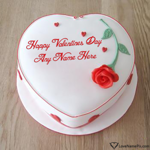Best Editor For Happy Valentine Day Cake With Name