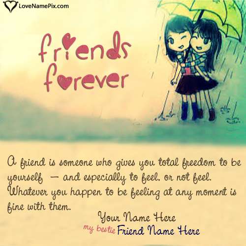 Best Friend Quotes For Girls With Name
