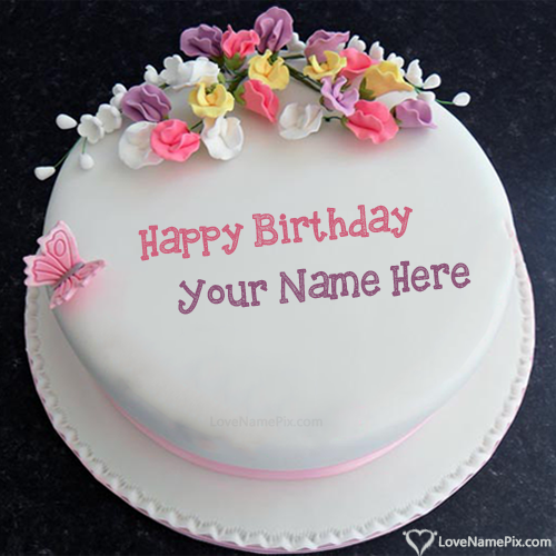 Birthday Cake Images With Wishes With Name