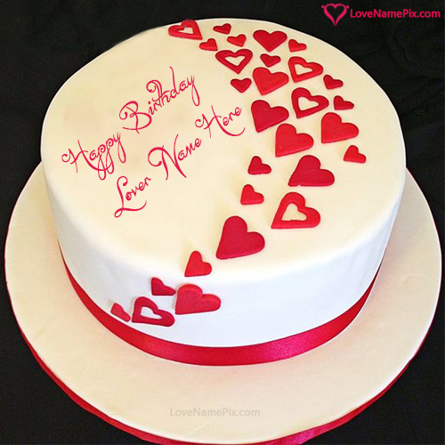 Birthday Wishes Cake For Lovers With Name