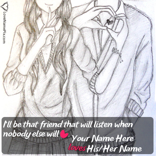Cute Images Of Love Friendship With Name