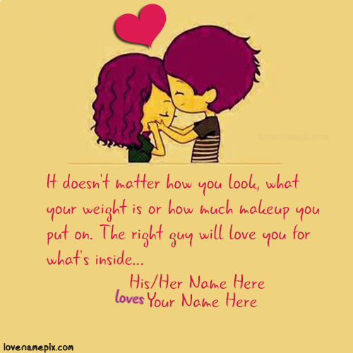 Cutest Love Quotes For Her With Name