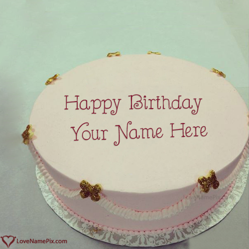 Edit Best Birthday Cake Photo With Name