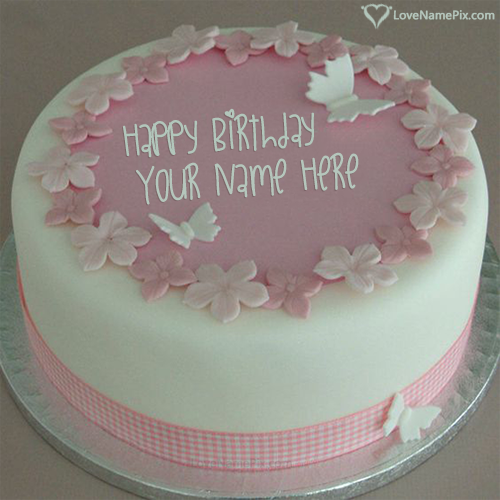 Write Name on Edit Birthday Cake For Sister Free Picture