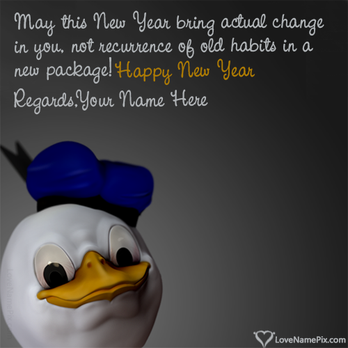 Funny New Year Resolutions With Name