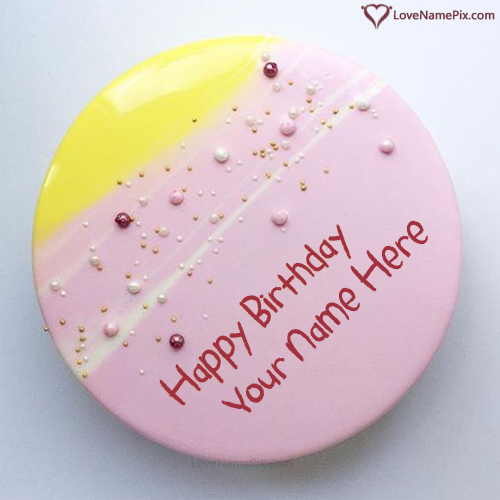 Happy Birthday Cakes For Sister Images With Name
