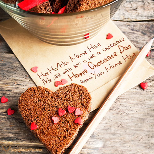 Happy Chocolate Day Messages With Name