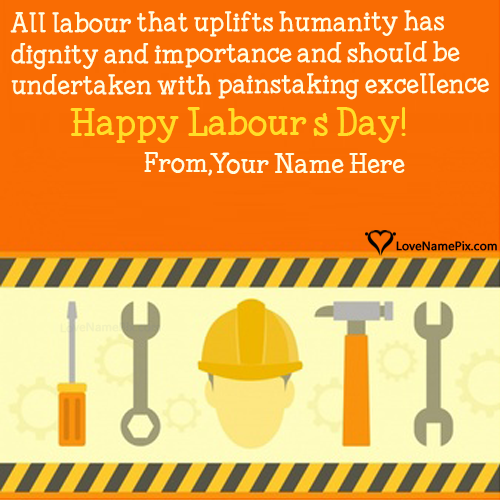 Happy Labour Day Quotes Inspirational With Name