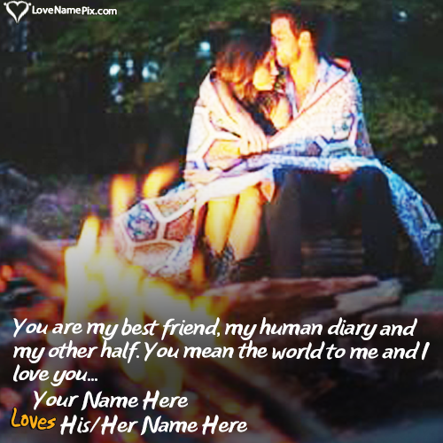 Heart Touching Love Couple Name Combiner With Name
