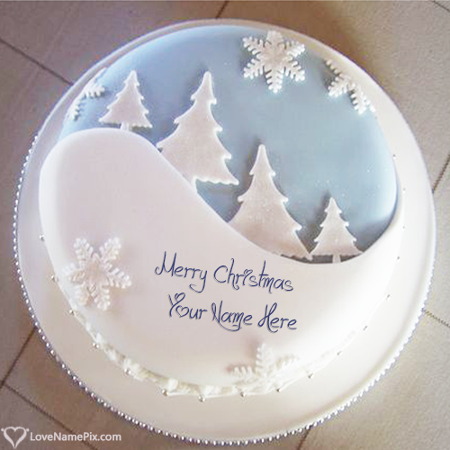 Ideas For Merry Christmas Cake Images With Name