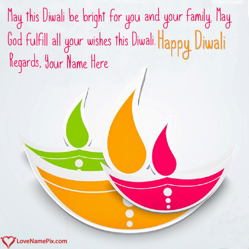 Images Of Diwali Greetings With Name