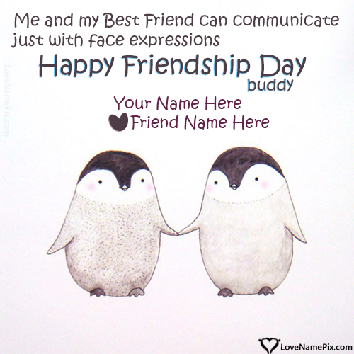 Write Name on Images Of Friendship Day Messages Picture
