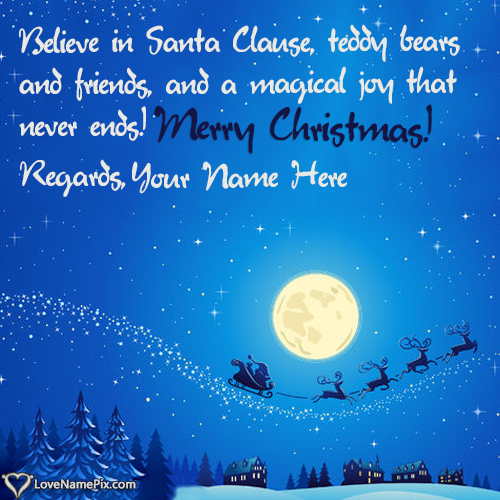 Write Name on Images Of Short Christmas Sayings Picture