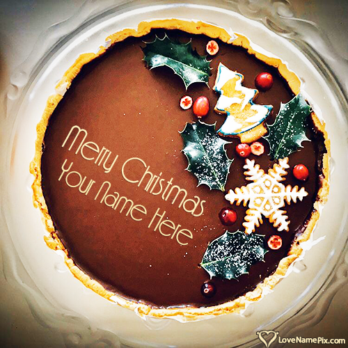 Merry Christmas Images Editor With Name