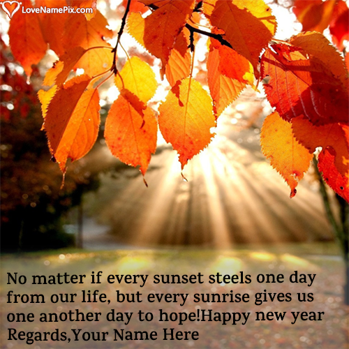 New Year Greetings Quotes With Name