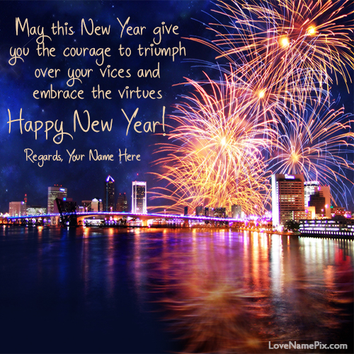 Happy New Year Wishes Messages With Name