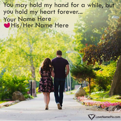 Write Name on Romantic Couple Love Images Generator Picture