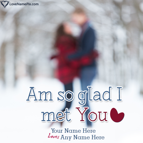 Write Name on Romantic Couple Quotes Generator Picture