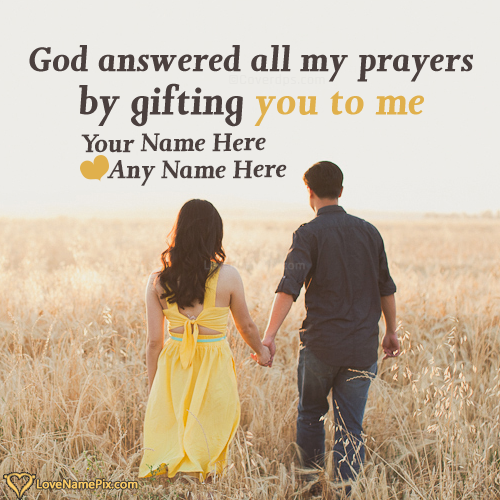 Romantic Lovers Quotes For Couple With Name