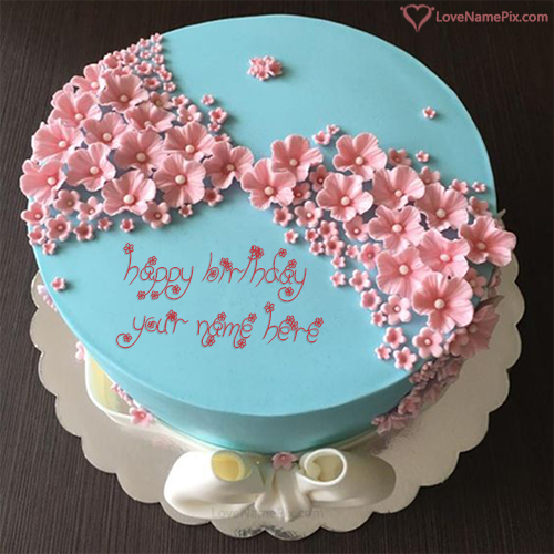 Awe Inspiring Stylish Birthday Cake Editing Online With Name Funny Birthday Cards Online Overcheapnameinfo