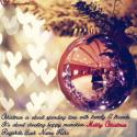 Write name on Best Christmas Wishes Sayings Picture