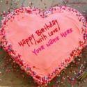 Write name on Best Online Birthday Cake Generator Picture