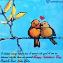 Write name on Cute Happy Valentines Day Quotes Picture