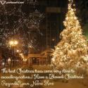Write name on Decorated Christmas Tree Best Quotes Picture