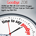 Write name on Goodbye 2018 Hello 2019 Wishes Picture