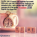 Write name on Goodbye 2018 Images Quotes Picture