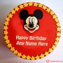 Write name on Happy Birthday Cake For My Son Picture