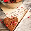 Write name on Happy Chocolate Day Messages Picture