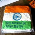 Indian National Flag Cake Love Name Picture