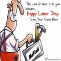 Write name on Inspirational Labor Day Images Quotes Picture