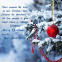 Write name on Merry Christmas Wishes Messages Picture