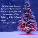 Write name on Merry Christmas Wishes Quotes Picture