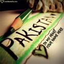 Write name on Pakistan Independence Day Greetings Picture