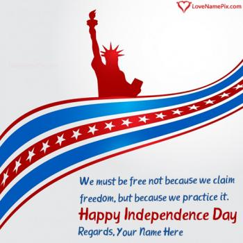 American Independence Day Quotes Sayings With Name