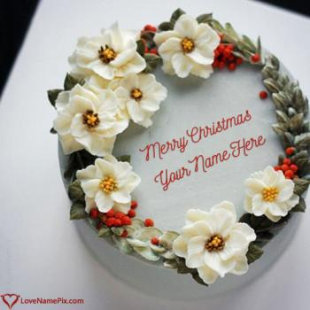 Best Christmas Cake Ideas With Name