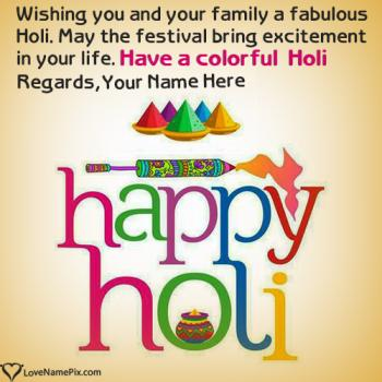 Best Editor For Holi Wishes With Name