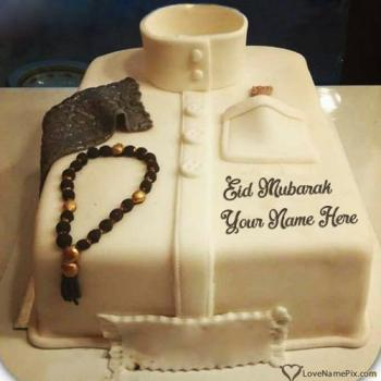 Best Eid Mubarak Cake Edit With Name