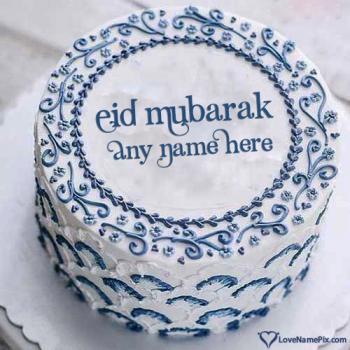 Best Eid Mubarak Cake Images With Name
