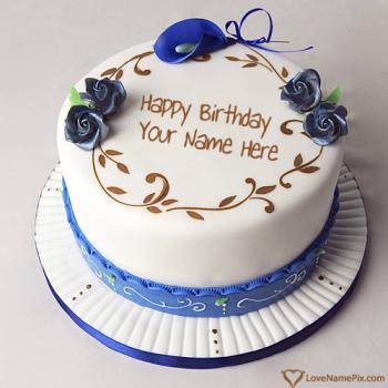 Write Name On Best Ever Birthday Cake Images
