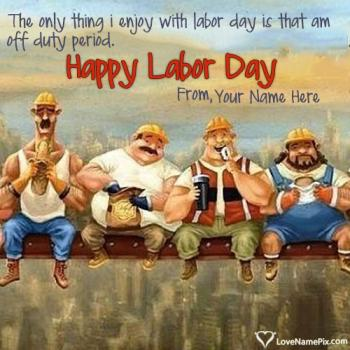 Write name on Best Labor Day Weekend Quotes images