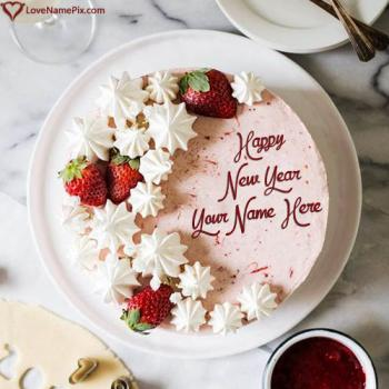 Best New Year Cake Editor With Name