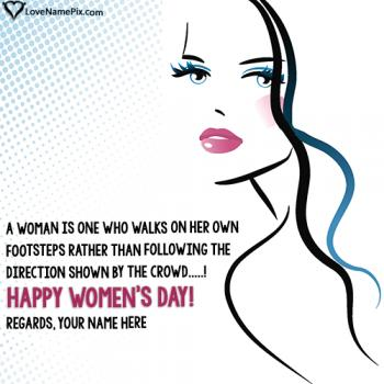 Best Womens Day Wishes Images With Name
