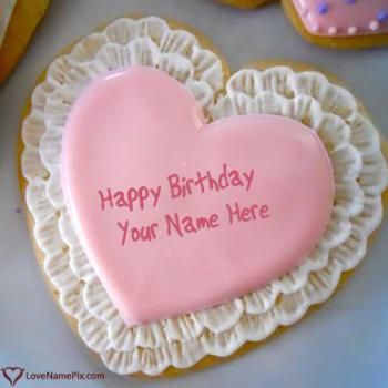 Write Name On Birtdhay Cake Cookie Images For Lover