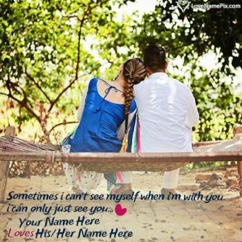 Romantic Couple Name Generator And Love Wallpaper Editing