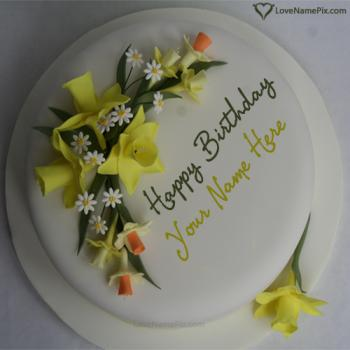 Create Online beautiful Birthday Cake With Name